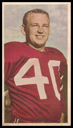 Bruno Bitkowski 1954 Blue Ribbon football card