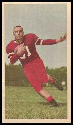 Gene Roberts 1954 Blue Ribbon football card