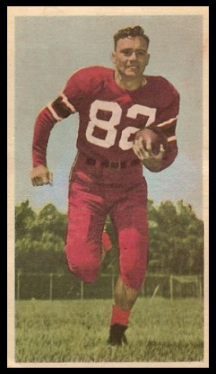Howie Turner 1954 Blue Ribbon football card