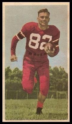Howie Turner 1954 Blue Ribbon football card