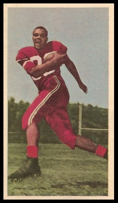 Avatus Stone 1954 Blue Ribbon football card