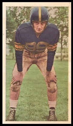 Lorne Benson 1954 Blue Ribbon football card