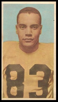 Dick Brown 1954 Blue Ribbon football card