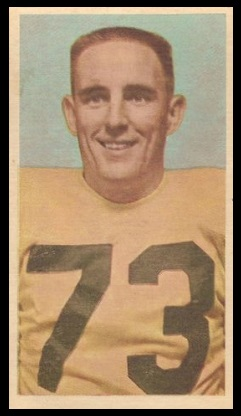 Tip Logan 1954 Blue Ribbon football card