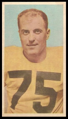 Pete Neumann 1954 Blue Ribbon football card