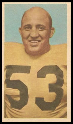 Vince Scott 1954 Blue Ribbon football card