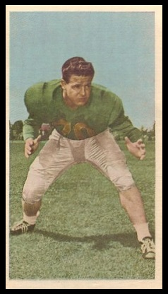 Frank Anderson 1954 Blue Ribbon football card