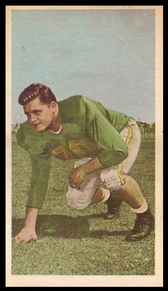 Bob Dean 1954 Blue Ribbon football card