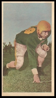 Leon Manley 1954 Blue Ribbon football card
