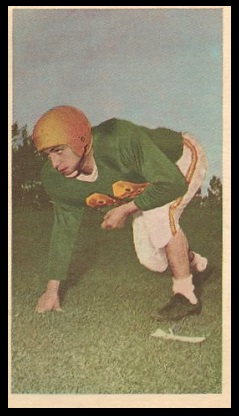 Jim Quondamatteo 1954 Blue Ribbon football card