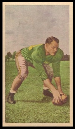 Eagle Keys 1954 Blue Ribbon football card