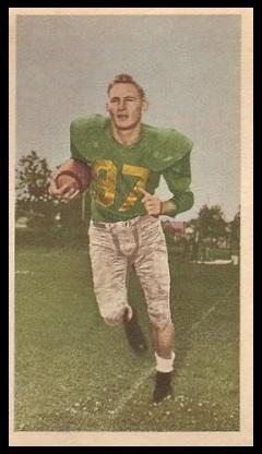 Jackie Parker 1954 Blue Ribbon football card