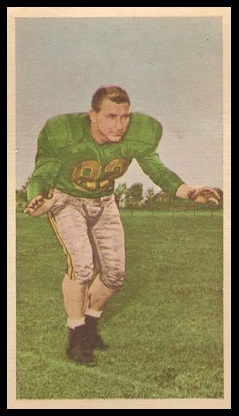Mike King 1954 Blue Ribbon football card