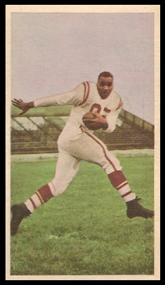 John Bright 1954 Blue Ribbon football card
