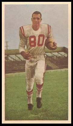 Stan Heath 1954 Blue Ribbon football card