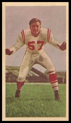 Roy Jenson 1954 Blue Ribbon football card