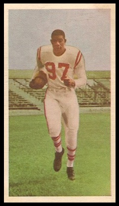 Eddie Macon 1954 Blue Ribbon football card