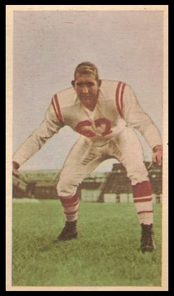 Jim Prewett 1954 Blue Ribbon football card