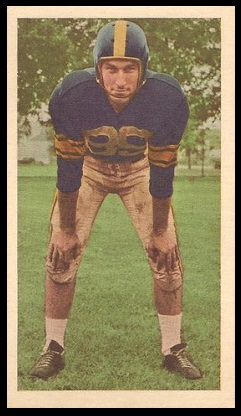 Tommy Ford 1954 Blue Ribbon football card