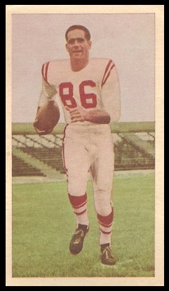 Lowell Wagner 1954 Blue Ribbon football card