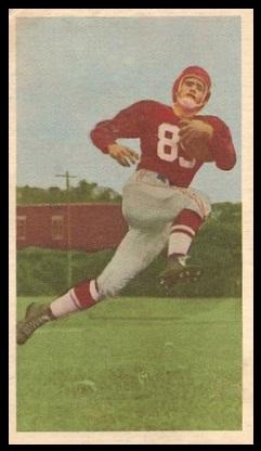 Larry Grigg 1954 Blue Ribbon football card