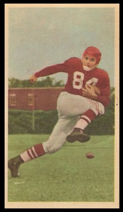 Chuck Hunsinger 1954 Blue Ribbon football card