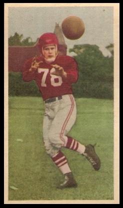 Virgil Wagner 1954 Blue Ribbon football card