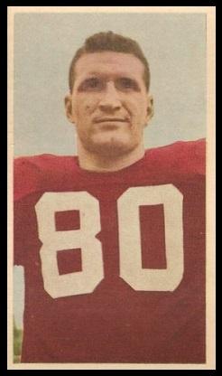 Phil Adrian 1954 Blue Ribbon football card