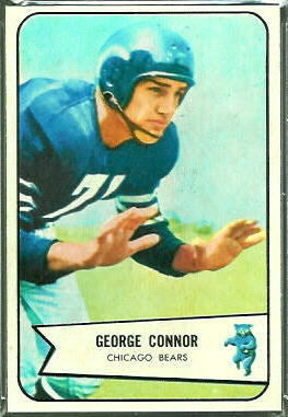 George Connor 1954 Bowman football card