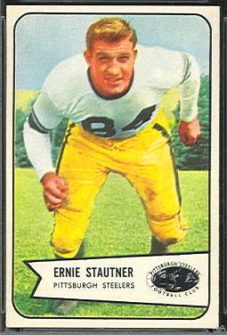 Ernie Stautner 1954 Bowman football card