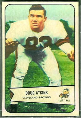 Doug Atkins 1954 Bowman football card