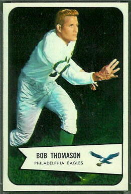 Bobby Thomason 1954 Bowman football card
