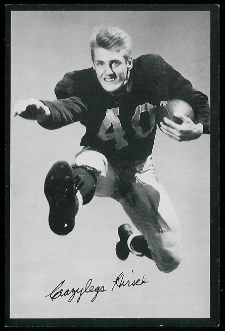 Elroy Hirsch 1954 Rams Team Issue football card