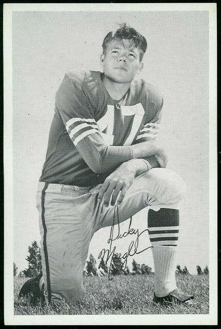 Dick Moegle 1955 49ers Team Issue football card