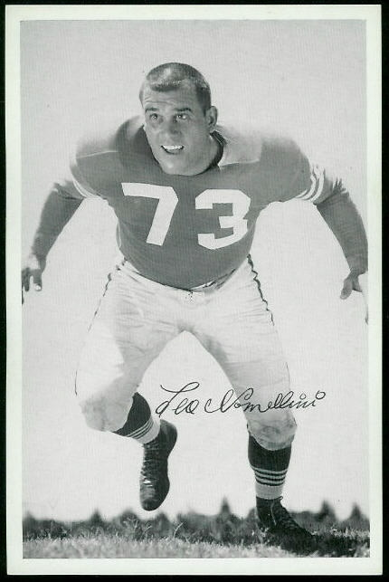 Leo Nomellini 1955 49ers Team Issue football card