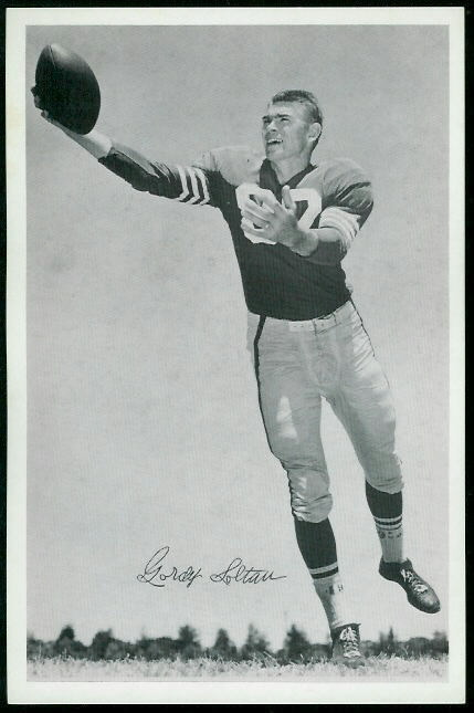 Gordon Soltau 1955 49ers Team Issue football card