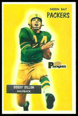 Bobby Dillon 1955 Bowman football card