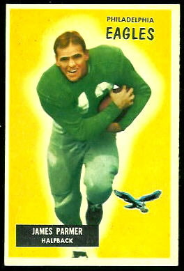 James Parmer 1955 Bowman football card