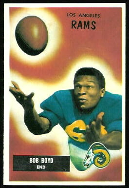 Bob Boyd 1955 Bowman football card