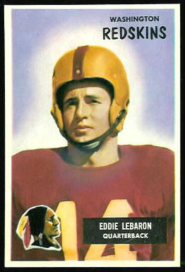 Eddie LeBaron 1955 Bowman football card