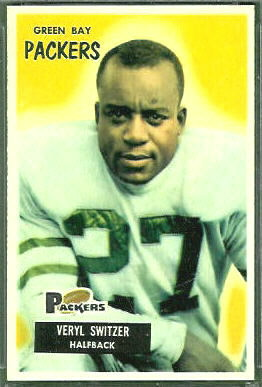 Veryl Switzer 1955 Bowman football card