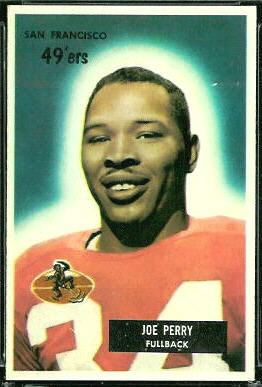 Joe Perry 1955 Bowman football card