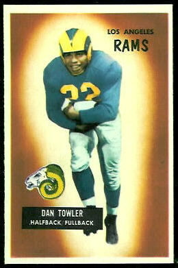 Dan Towler 1955 Bowman football card