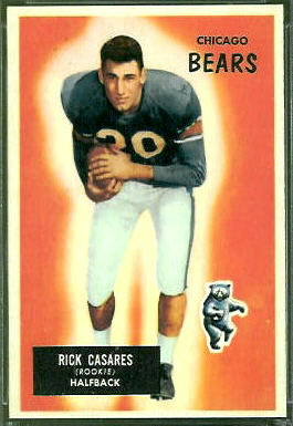 Rick Casares 1955 Bowman football card