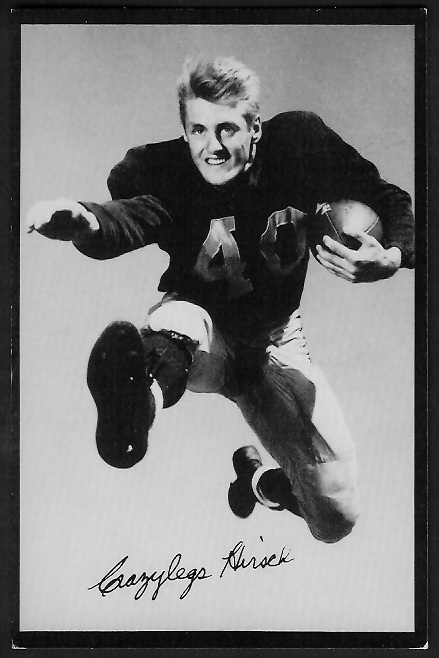 Elroy Hirsch 1955 Rams Team Issue football card