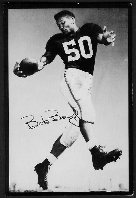 Bob Boyd 1955 Rams Team Issue football card