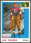 1955 Topps All-American Jim Thorpe