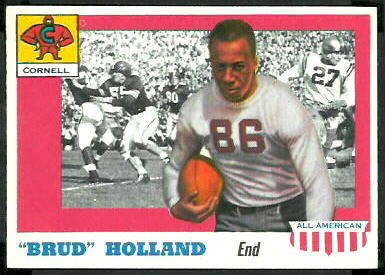 Brud Holland 1955 Topps All-American football card