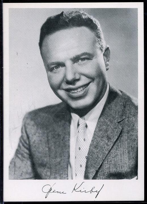 Gene Kirby 1956 Giants Team Issue football card