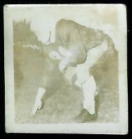 Frank Morris 1956 Parkhurst football card